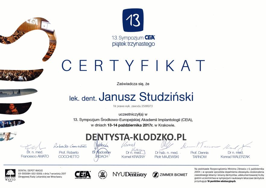 certyfikat-implanty-studzinski