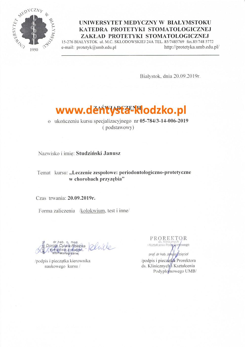 szkolenie-parodontoza-dentysta-klodzko